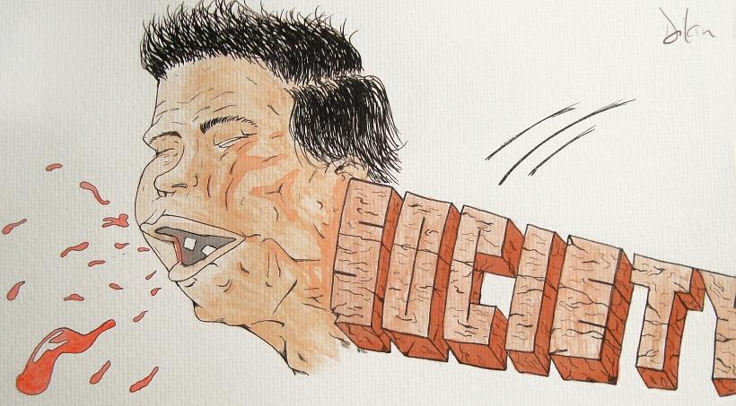 Dilan Gama - Técnica utilizada: nanquim / aquarela - contato: dilan@irraprodutora.com
